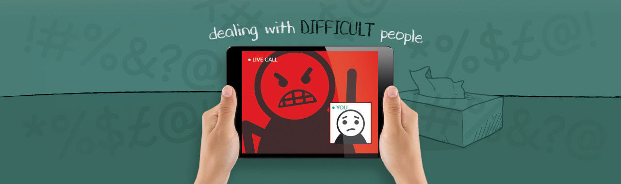 DEALING WITH DIFFICULT PEOPLE - three modules workshops